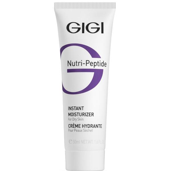 Crema hidratanta pentru ten uscat Gigi Cosmetics Nutri Peptide, 50ml