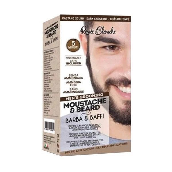 Vopsea de barba Renée Blanche Saten inchis, 20ml esteto.ro