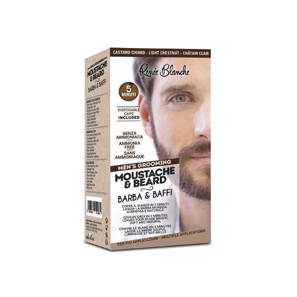 Vopsea de barba Renée Blanche Saten deschis, 20ml esteto.ro