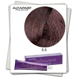 Vopsea Fara Amoniac - Alfaparf Milano Color Wear nuanta 5.5 Castano Chiaro Mogano