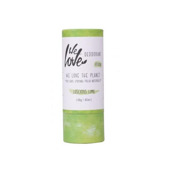 Deodorant natural stick Lucious Lime We love the planet 48g