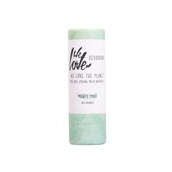 Deodorant natural stick Mighty Mint We love the planet, 65g