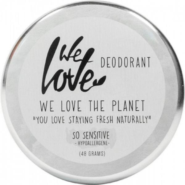 Deodorant natural crema So Sensitive We love the planet 48g