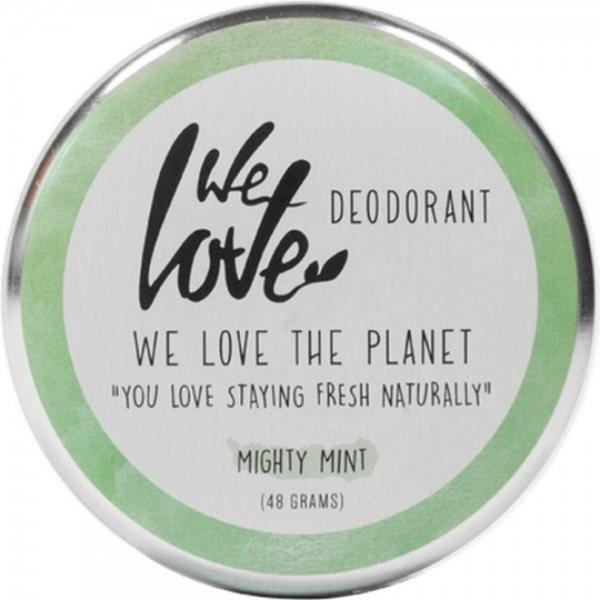 Deodorant natural crema Mighty Mint We love the planet 48g esteto.ro