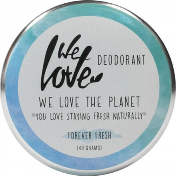 Deodorant natural crema Forever Fresh We love the planet 48g