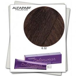 Vopsea Fara Amoniac - Alfaparf Milano Color Wear nuanta 6.32 Biondo Scuro Dorato Irise