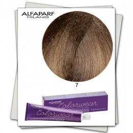 Vopsea Fara Amoniac - Alfaparf Milano Color Wear nuanta 7 Biondo Medio