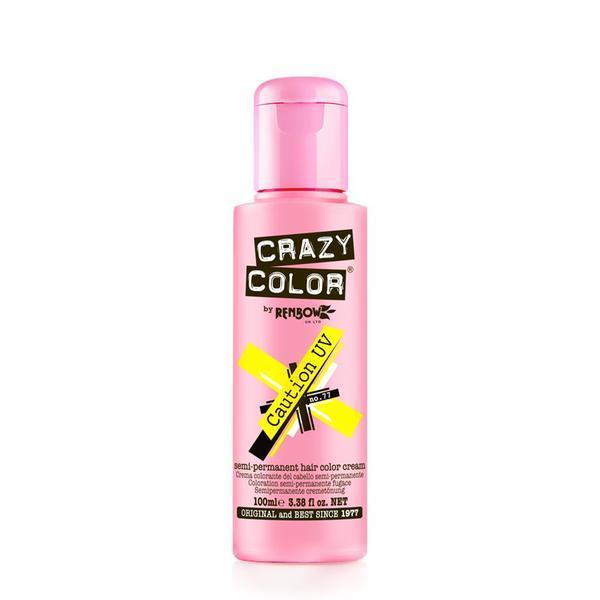 Vopsea semi-permanenta Crazy Color Caution Uv - no.77, 100 ml esteto.ro