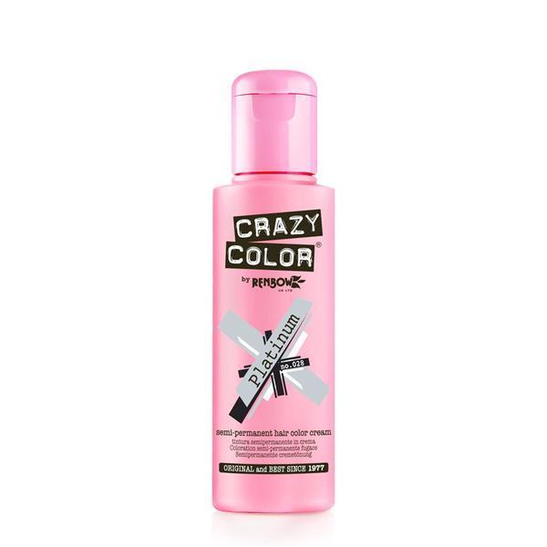 Vopsea semi-permanenta Crazy Color Platinum - no.28, 100 ml esteto.ro