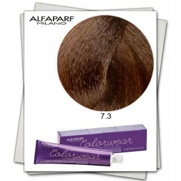 Vopsea Fara Amoniac - Alfaparf Milano Color Wear nuanta 7.3 Biondo Medio Dorato