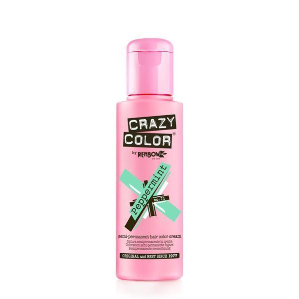 Vopsea semi-permanenta Crazy Color Pepermint - no.71, 100 ml esteto.ro