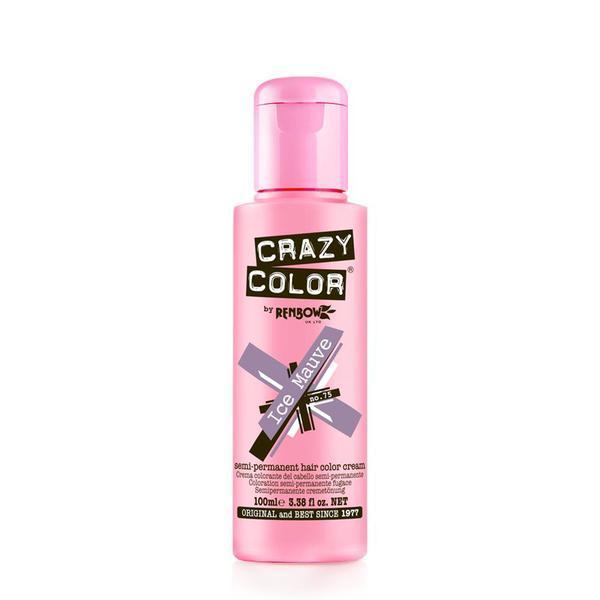 Vopsea semi-permanenta Crazy Color Ice Mauve - no.75, 100 ml esteto.ro