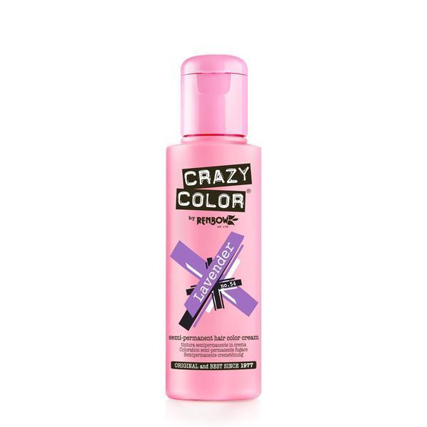 Vopsea semi-permanenta Crazy Color Lavander - no.54, 100 ml esteto.ro