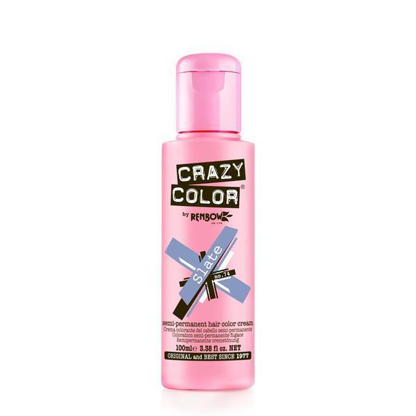 Vopsea semi-permanenta Crazy Color Slate - no.74, 100 ml esteto.ro