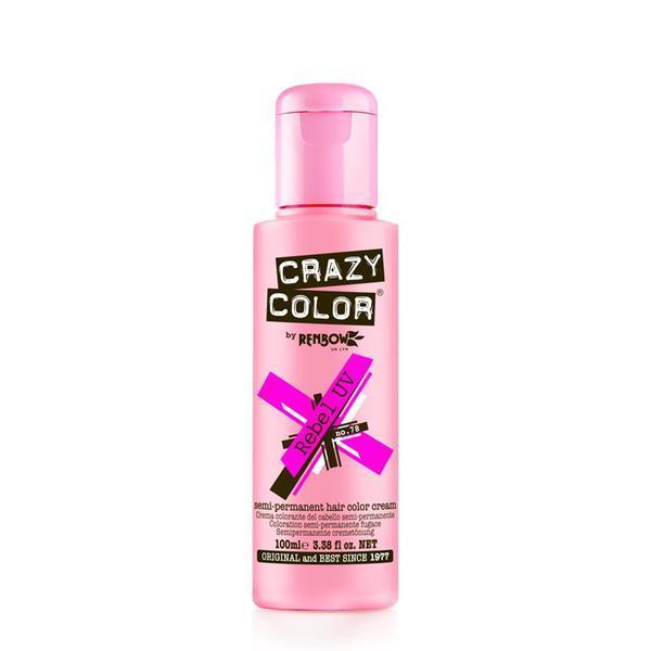 Vopsea semi-permanenta Crazy Color Rebel Uv - no.78, 100 ml esteto.ro