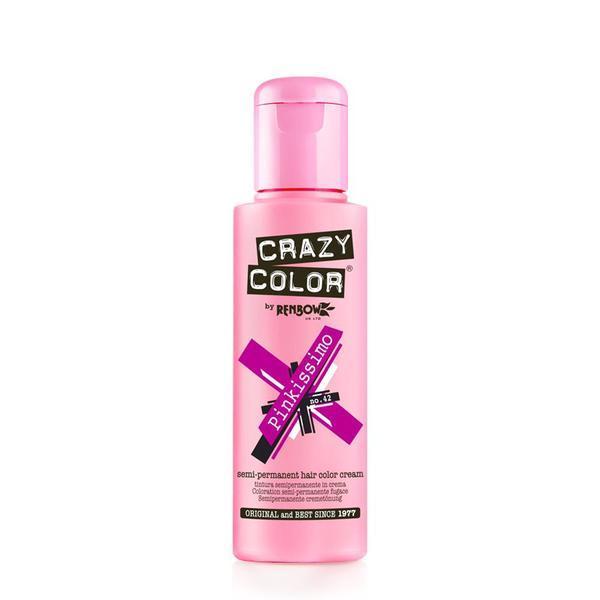 Vopsea semi-permanenta Crazy Color Pinkissimo - no.42, 100 ml esteto.ro