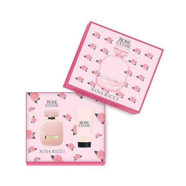 Set Apa de Toaleta 50ml + Lotiune de Corp 75ml Nina Ricci Rose Extase esteto.ro