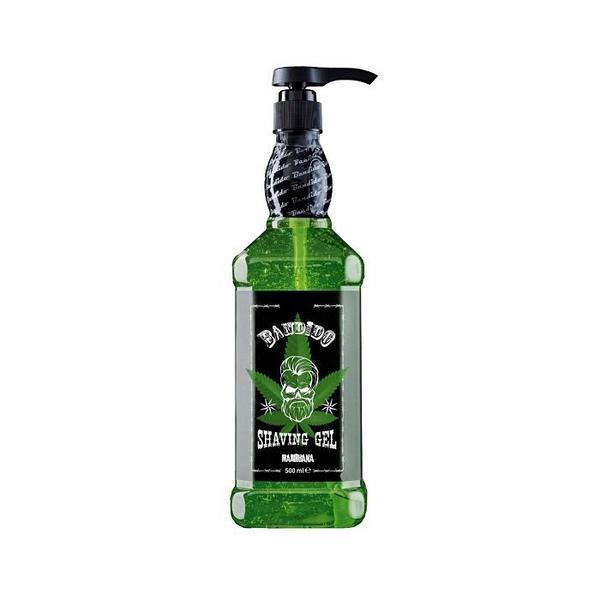 Gel de ras Bandido Green, 500 ml