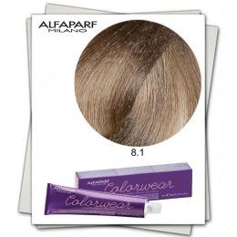 Vopsea Fara Amoniac - Alfaparf Milano Color Wear nuanta 8.1 Biondo Chiaro Cenere