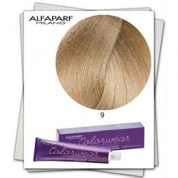 Vopsea Fara Amoniac - Alfaparf Milano Color Wear nuanta 9 Biondo Chiarissimo