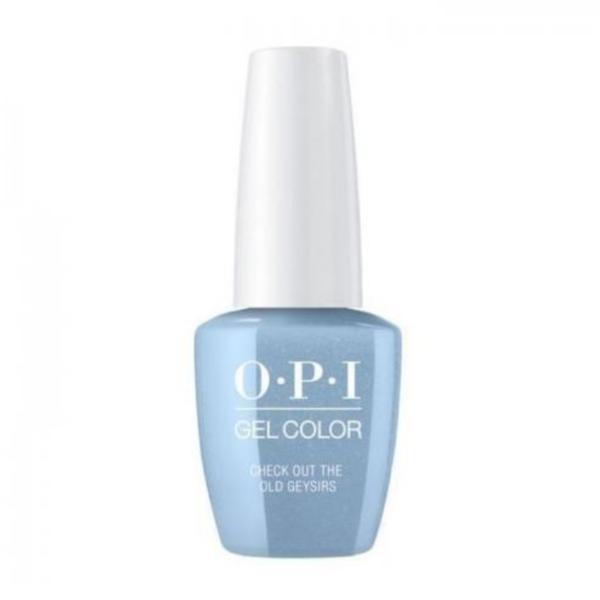 Lac de Unghii Semipermanent Gel Color Check Out The Old Geysirs Opi,15ml