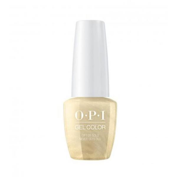 Lac de Unghii Semipermanent Gel Color Gift Of Gold Never Gets Old Opi, 15ml esteto.ro