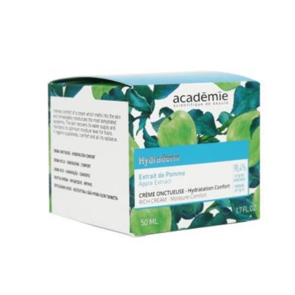 Crema Academie Crème Onctueuse efect hidratant hranitor pentru ten uscat 50ml