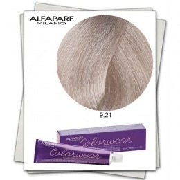 Vopsea Fara Amoniac - Alfaparf Milano Color Wear nuanta 9.21 Biondo Chiarissimo Irise Cenere