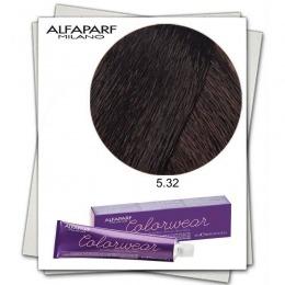 Vopsea Fara Amoniac - Alfaparf Milano Color Wear nuanta 5.32 Castano Chiaro Dorato Irise