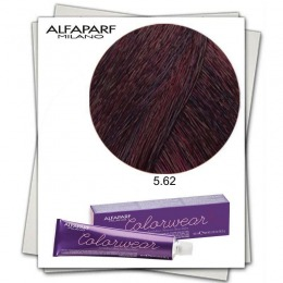 Vopsea Fara Amoniac - Alfaparf Milano Color Wear nuanta 5.62 Castano Chiaro Rosso Irise