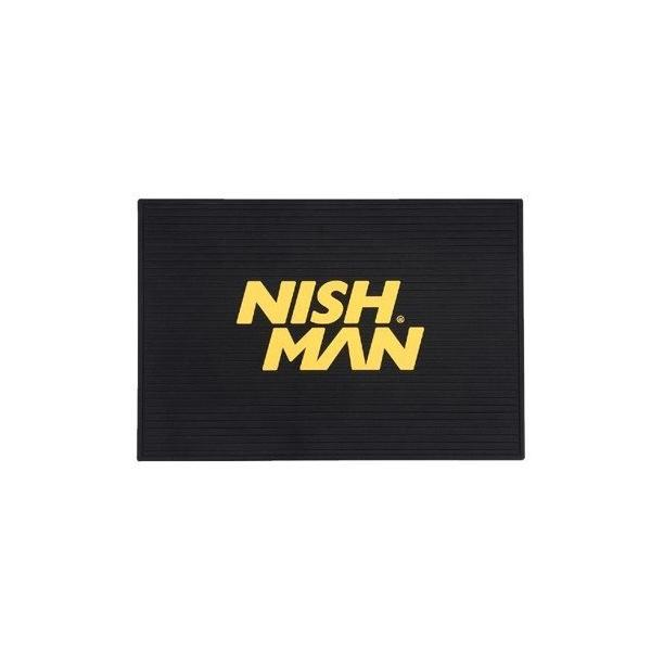 Covor pentru ustensile Nish Man - logo galben