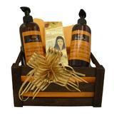 Set cadou cutie lemn, produse cosmetice Arganine cu ulei de argan, sapun lichid 400 ml, lotiune de corp 400 ml, ulei par/piele Valona 140 ml