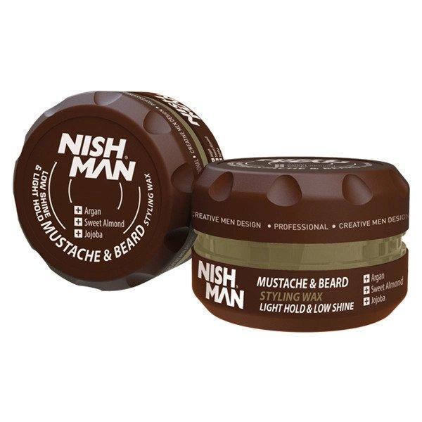 Balsam pentru barba si mustata Nish Man, 100 ml esteto.ro