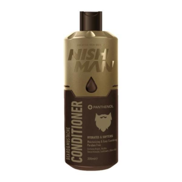 Balsam pentru barba si mustata Nish Man, 200 ml esteto.ro