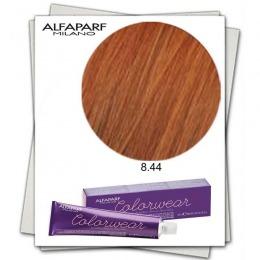 Vopsea Fara Amoniac - Alfaparf Milano Color Wear nuanta 8.44 Biondo Chiaro Rame Intenso