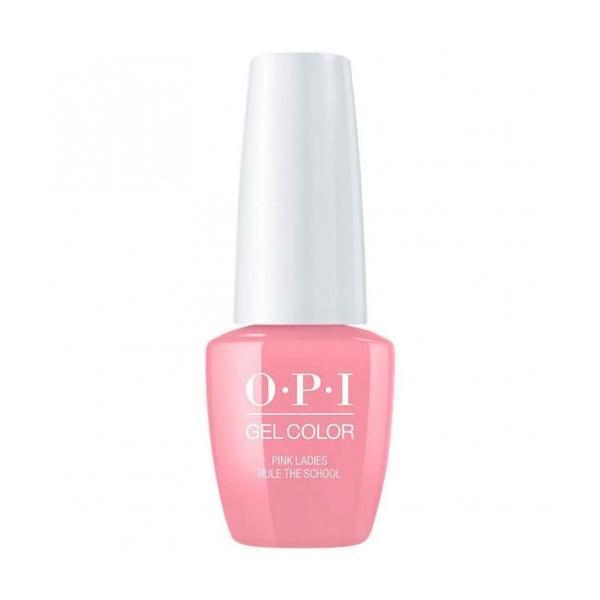 Lac de Unghii Semipermanent Opi Gel Color Pink Ladies Rule The School 7.5ml
