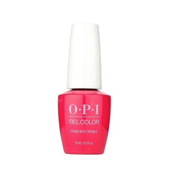 LAC DE UNGHII SEMIPERMANENT OPI GEL COLOR TOYING WITH TROUBLE 15ML