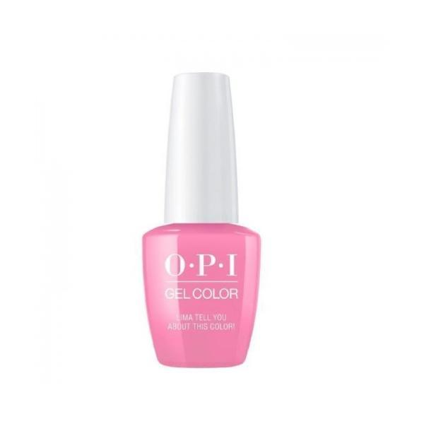 Lac de Unghii Semipermanent Opi Gel Color Lima Tell You About This Color! 15ml esteto.ro