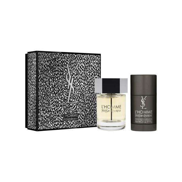 Set cadou Eau de Toilette 100ml + Deodorant Stick Yves Saint Laurent La Nuit de L Homme 75ml esteto.ro