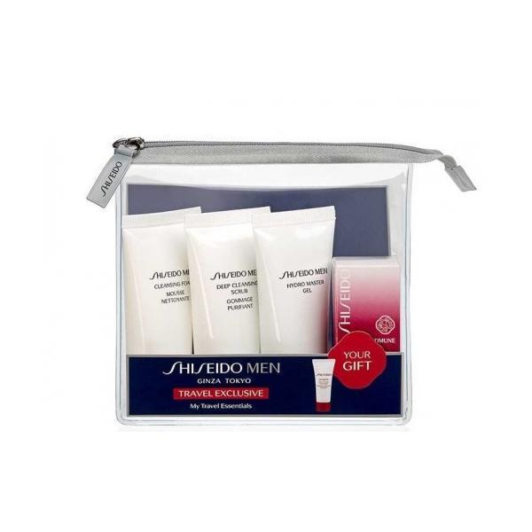 Set cadou Spuma de Curatare 30ml + Gomaj 30ml + Gel Hidratant 30ml + Concentrat 5ml Shiseido esteto.ro