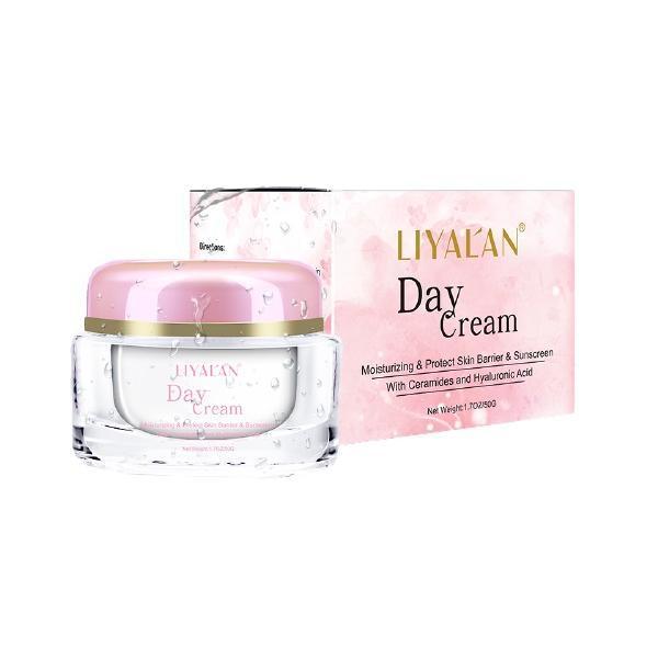 Crema de zi, LIYAL'AN, Ceramide si Acid Hialuronic, 50g