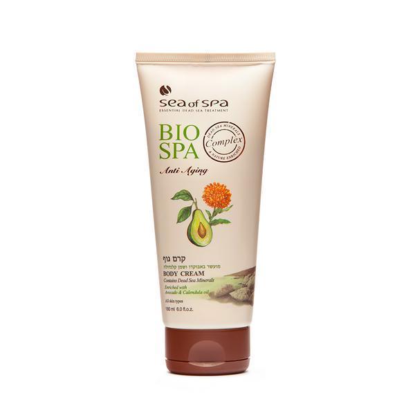 Crema de corp imbogatita cu ulei de avocado si galbenele, Bio Spa, 180 ml esteto.ro