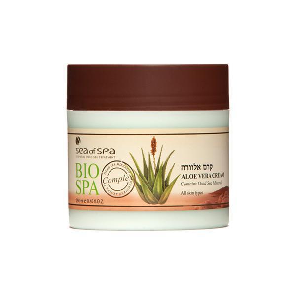 Crema cu Aloe Vera, contine minerale din Marea Moarta pentru toate tipurile de piele, BIO SPA, 250ml esteto.ro