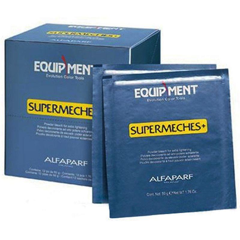 Pudra Decoloranta - Alfaparf Milano EQ Supermeches Powder Bleach 12 plicuri x 50 gr poza