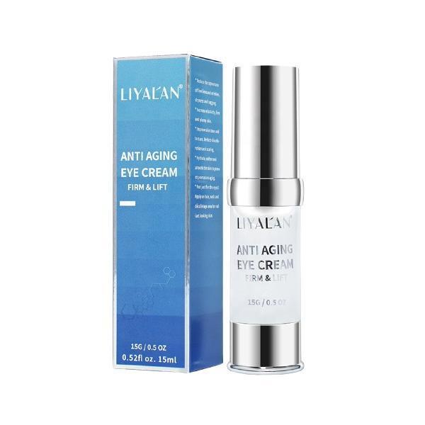 Crema pentru ochi, Anti-Aging, Anti-Rid, LIYAL'AN, Creste elasticitatea, Hidrateaza si netezeste pielea, 15 ml esteto.ro