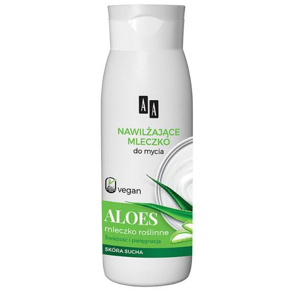 SHORT LIFE - Gel de Dus Cremos Hidratant cu Aloe Vera AA Vegan Oceanic, 400ml esteto.ro