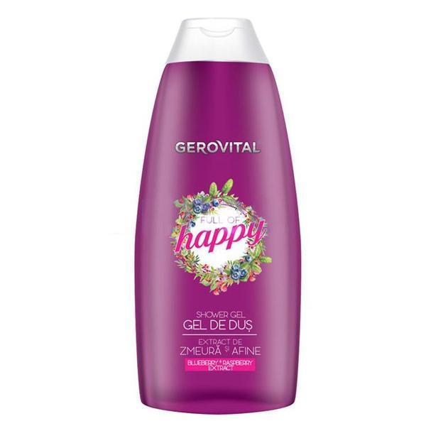 SHORT LIFE - Gel de Dus - Gerovital Shower Gel - Full of Happy, 250ml esteto.ro