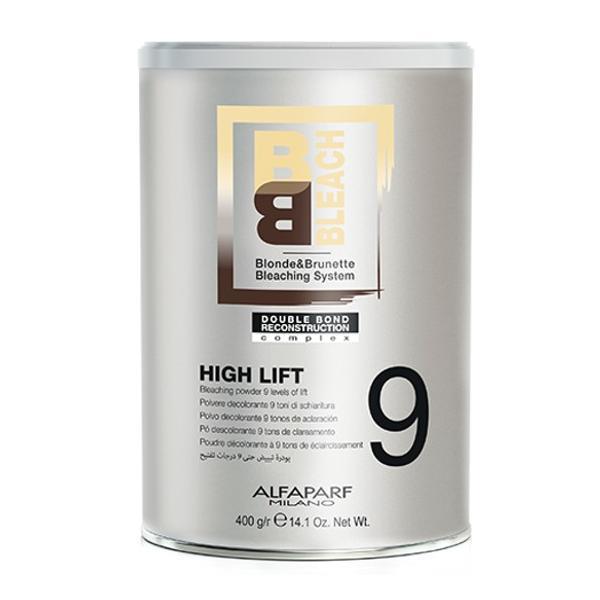 Pudra Decoloranta 9 Tonuri - Alfaparf Milano BB Bleach High Lift Bleaching Powder 9 Levels of Lift, 400g poza