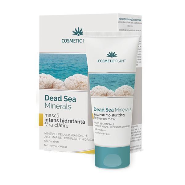 SHORT LIFE - Masca Intens Hidratanta fara Clatire Dead Sea Minerals Cosmetic Plant, 50ml esteto.ro