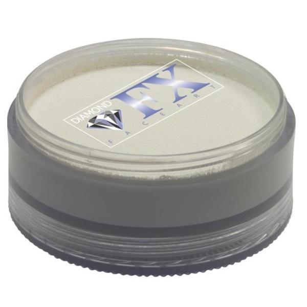 Vopsea pentru față sau corp, Diamond FX Alb Mat, 90 g